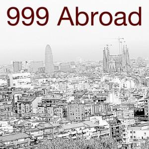 999 Abroad -- Cover by Börkur Sigurbjörnsson