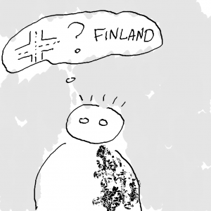 What is the traffic like in Finland? -- Illustration by Yana Volkovich