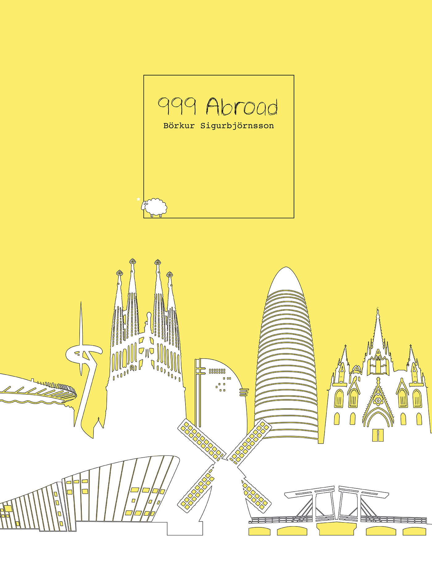 999 Abroad -- Cover design: Ana Piñeyro