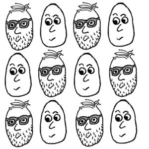 Köningegg -- Illustration by Börkur Sigurbjörnsson