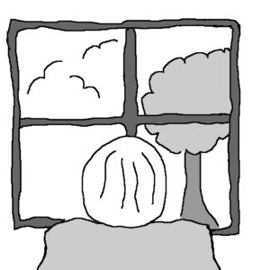 Insomnia -- Illustration by Börkur Sigurbjörnsson