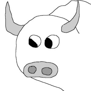Death of a bullfighter -- Illustration by Börkur Sigurbjörnsson