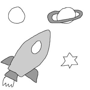 The outer edge of the solar system -- Illustration by Börkur Sigurbjörnsson