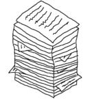 The autobiography -- Illustration by Börkur Sigurbjörnsson