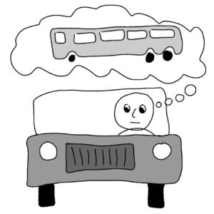 Car owner's log - Illustration by Börkur Sigurbjörnsson