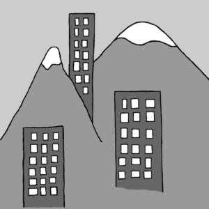 Points of Reference - Illustration by Börkur Sigurbjörnsson