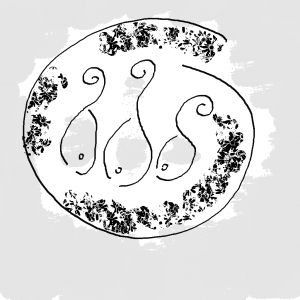 ¿Qué comen los peces? - Ilustración de Yana Volkovich