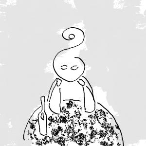 Julia - Ilustración de Yana Volkovich