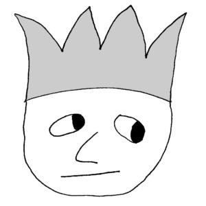 Se busca monarca - Ilustración de Börkur Sigurbjörnsson