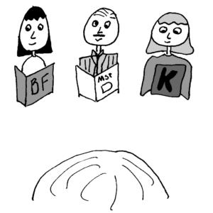 El libro secreto - Ilustración de Börkur Sigurbjörnsson