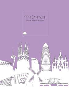 999 Erlendis -- Kápuhönnun: Ana Piñeyro