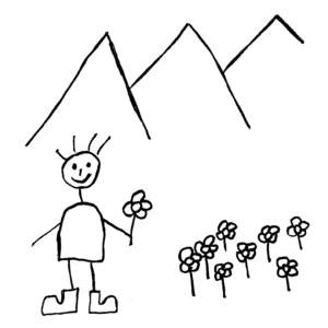 Myndskreyting Börkur Sigurbjörnsson